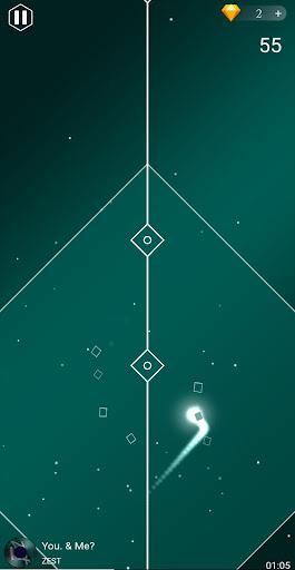 beat dot: dancing ball music line screenshot 3