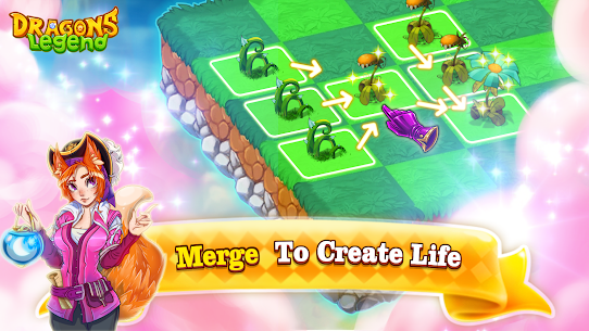 Dragons Legend – Merge and Build Game Mod Apk (Unlimited Resources) 2