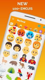 Big Emoji Mod Apk- large emoji for all chat messengers (Premium Feature Unlock) 7.0.0 5