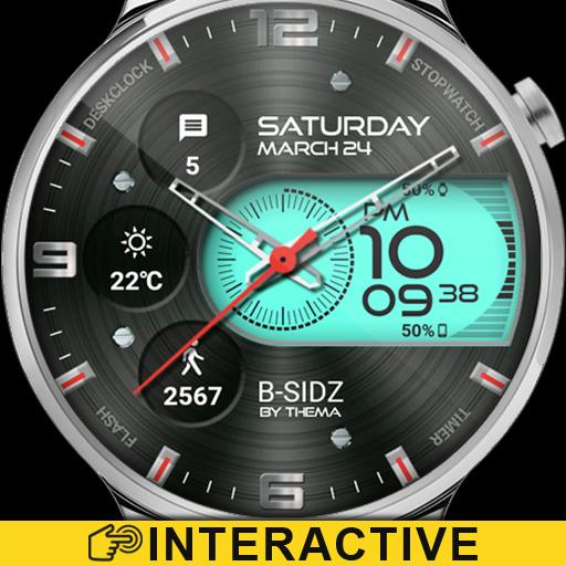 B-Sidz Watch Face & Clock Widget Icon