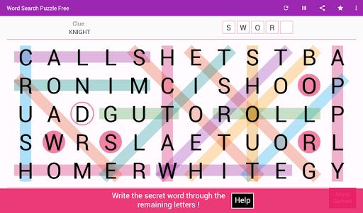 Word Search - Free Word Game 8.4 screenshots 8