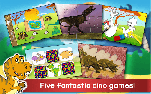 Kids Dino Adventure Game - Free Game for Children screenshots 8