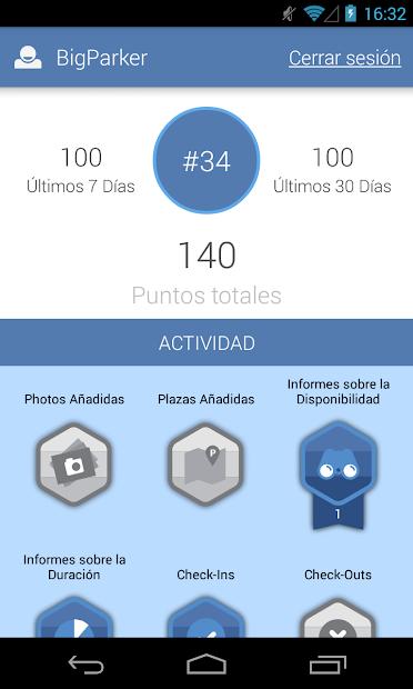 Screenshot 7 de Parkopedia Estacionamiento para android