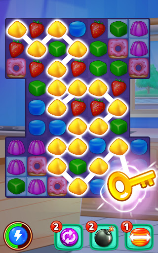 Gummy Paradise - Free Match 3 Puzzle Game 1.5.4 screenshots 3