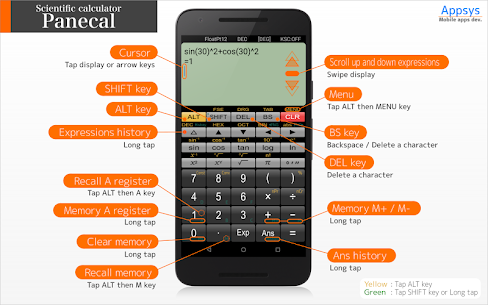 Panecal Scientific Calculator  For Pc 2020 | Free Download (Windows 7, 8, 10 And Mac) 2