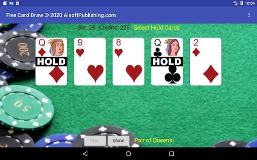 Five Card Draw Poker  screenshots 19