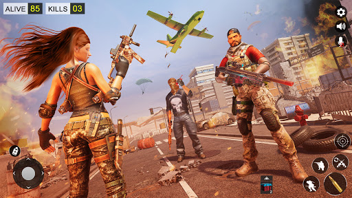 Modern Commando Strike: Counter Terrorist Squad 3D APK MOD Download 1