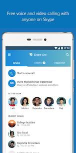 Skype Lite – Free Video Call & Chat Mod 1.88.76.1 Apk (Unlocked) 2