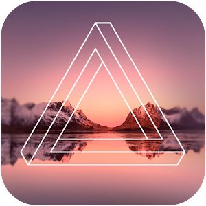 Geometry Camera Shape Photo Editor 1.3 by ksquareapps logo