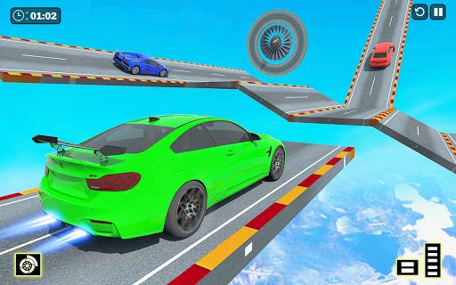 Crazy Ramp Car Stunts :Mega Ramp Stunt Games apkmr screenshots 2