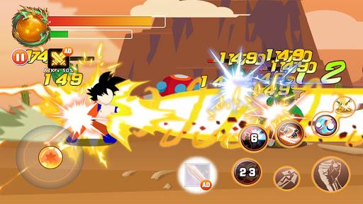 Télécharger Gratuit Dragon Stickman Attack : Universe Warriors APK MOD (Astuce) screenshots 2