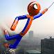 Real Stickman Rope Hero