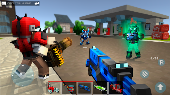 Mad GunZ - pixel shooter & Battle royale Screenshot