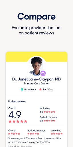Zocdoc Find A Doctor & Book On Demand Appointments 3.51.0 Screenshots 4