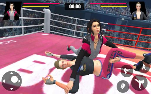 Women Wrestling Ring Battle: Ultimate action pack apkslow screenshots 8