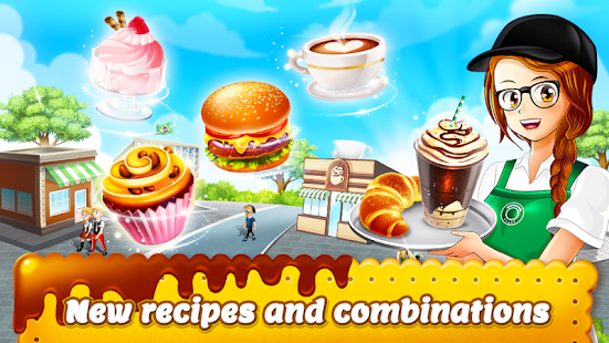 Cafe Panic: Cooking Restaurant Screenshot