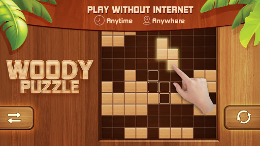 Woody Block Puzzle 99 - Free Block Puzzle Game android2mod screenshots 13