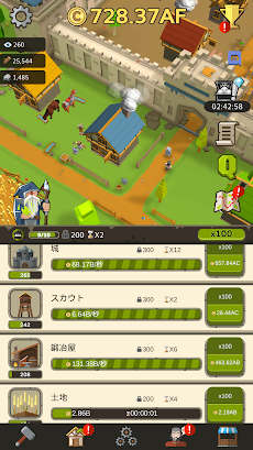 Medieval: Idle Tycoon - Idle Clicker Tycoon Gameのおすすめ画像2