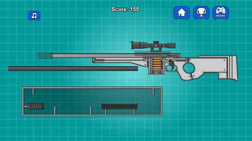 Assemble Toy Gun Sniper Rifle 2.0 screenshots 2