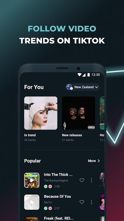 TikMusic – Trending music and viral videos  poster 1