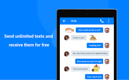 TextFun : Free Texting & Calling 2.2.1 Screenshots 7