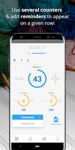 Row Counter – Knitting and Crocheting lines count Apk 4