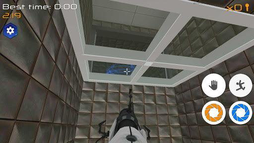 Portal Maze 2 - Aperture spacetime jumper games 3d 2.8 Screenshots 2
