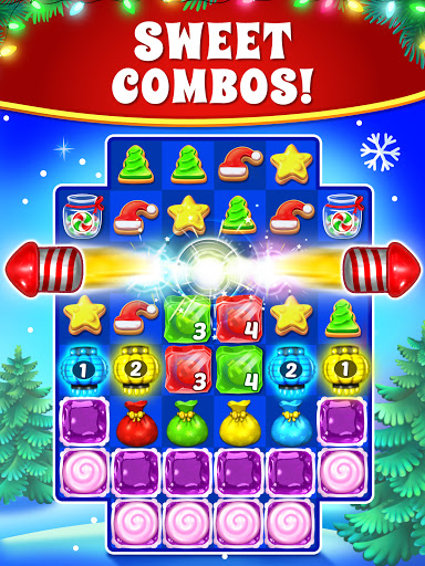 Christmas Cookie - Santa Claus's Match 3 Adventure 3.2.3 screenshots 18