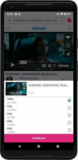 Universal Downloader - Download Any Video For Free android2mod screenshots 2