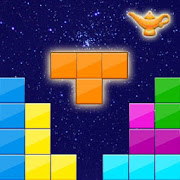 Block Puzzle Night in Egypt: Block Tiles game mode