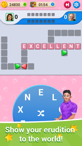 🍎Crossword Online: Word Cup  screenshots 1