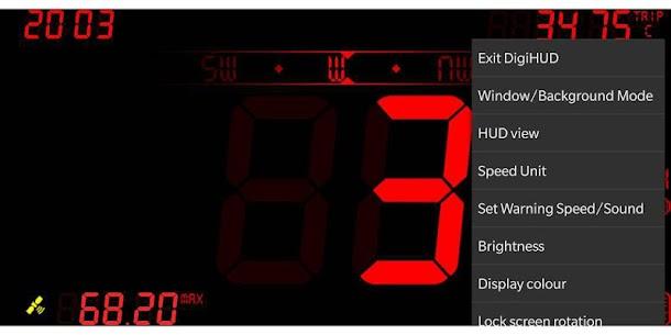 DigiHUD Speedometer Apk 4