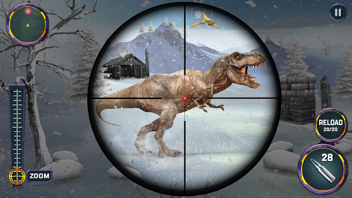 Dino Hunter 3D - Dinosaur Survival Games 2021 Apkfinish screenshots 17