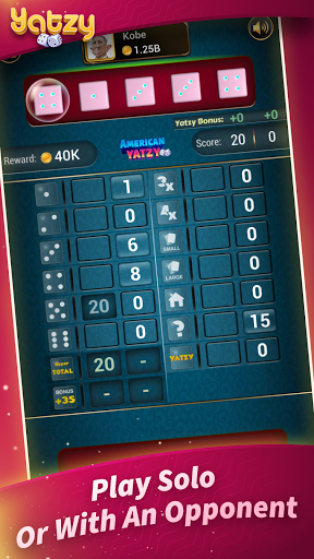 Yatzy - Offline Free Dice Games android2mod screenshots 3