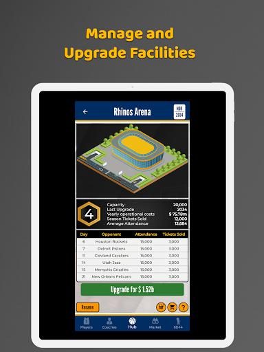 Ultimate Basketball General Manager - Sport Sim 1.2.1 screenshots 7