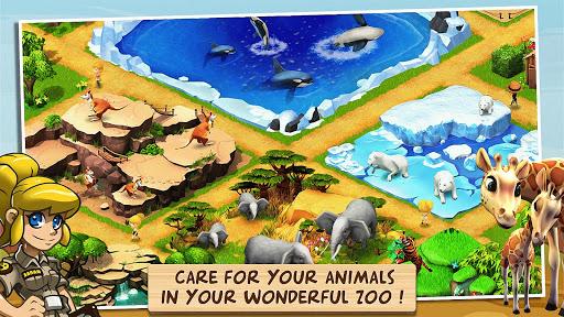 Wonder Zoo - Animal rescue ! apktreat screenshots 1