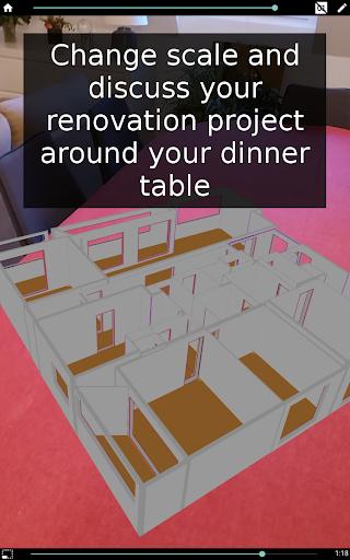 Floor plan - Home improvements in AR - Wodomo 3D 01.03.02 Screenshots 8