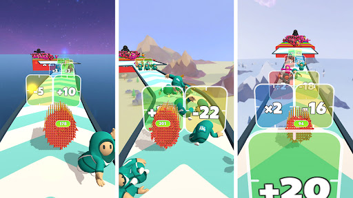 Flying Arrow Fest - Count Masters Brain Challenge  screenshots 8