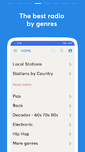 Radio Replaio - Internet Radio & Radio FM Online Screenshot