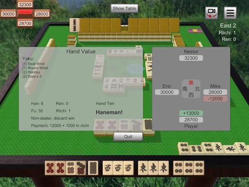 Riichi Mahjong 0.6.0 screenshots 10