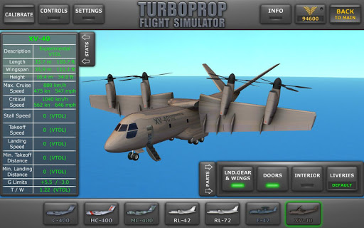 Turboprop Flight Simulator 3D 1.24 screenshots 17