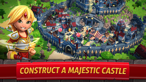 Royal Revolt 2: Tower Defense RTS & Castle Builder apkslow screenshots 4