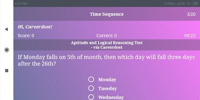 Aptitude Test & Logical Reasoning Test