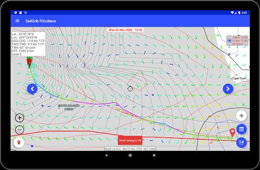 SailGrib for Virtual Regatta  Screenshots 10