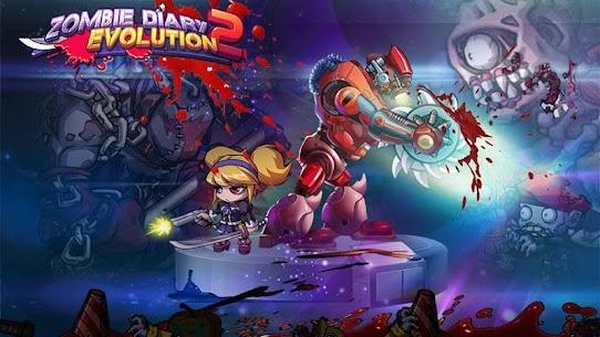Baixar Zombie Diary 2 Evolution MOD APK 1.2.4 – {Versão atualizada} 1