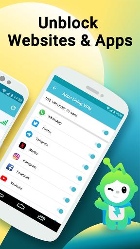 Mojo VPN - Fast Free Unlimited VPN & Security VPN android2mod screenshots 3