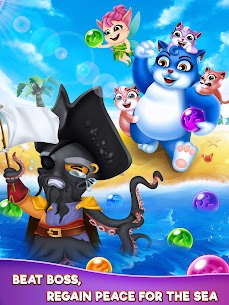 Bubble Shooter – Cat Pop Island Free Puzzle Game 10