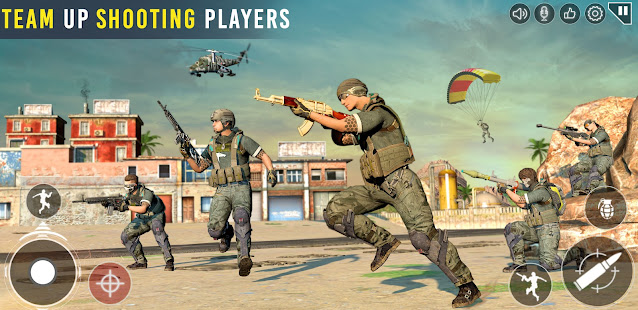 Commando Shooting Games 2021: Real FPS Free Games 21.6.3.0 Screenshots 13