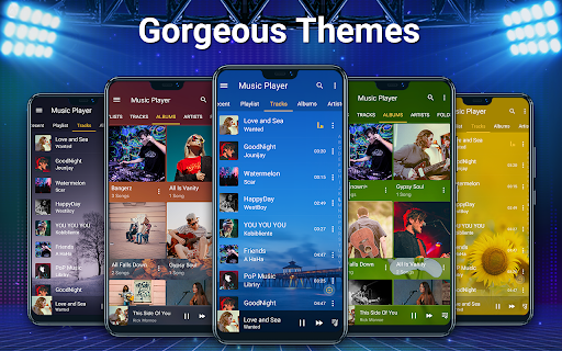 Music Player - MP3, Equalizer android2mod screenshots 2