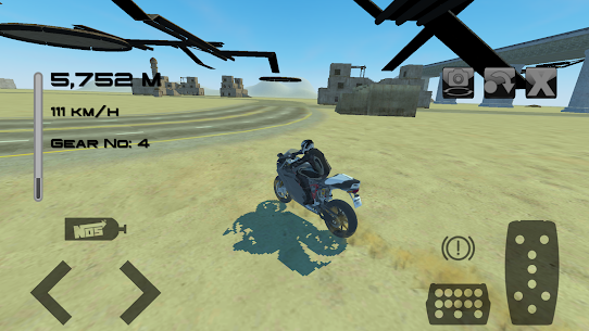 Fast Motorcycle Driver 4
